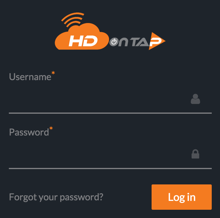 HDOnTap Portal