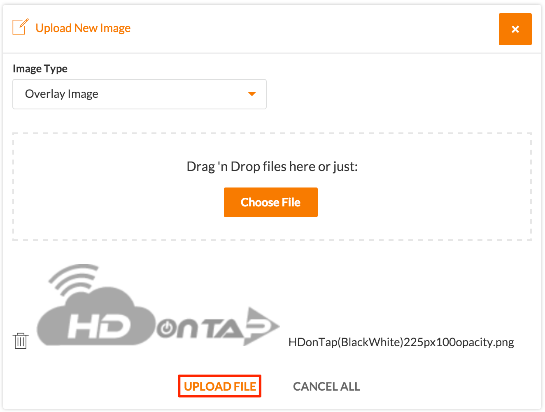 HDOnTap Upload Images