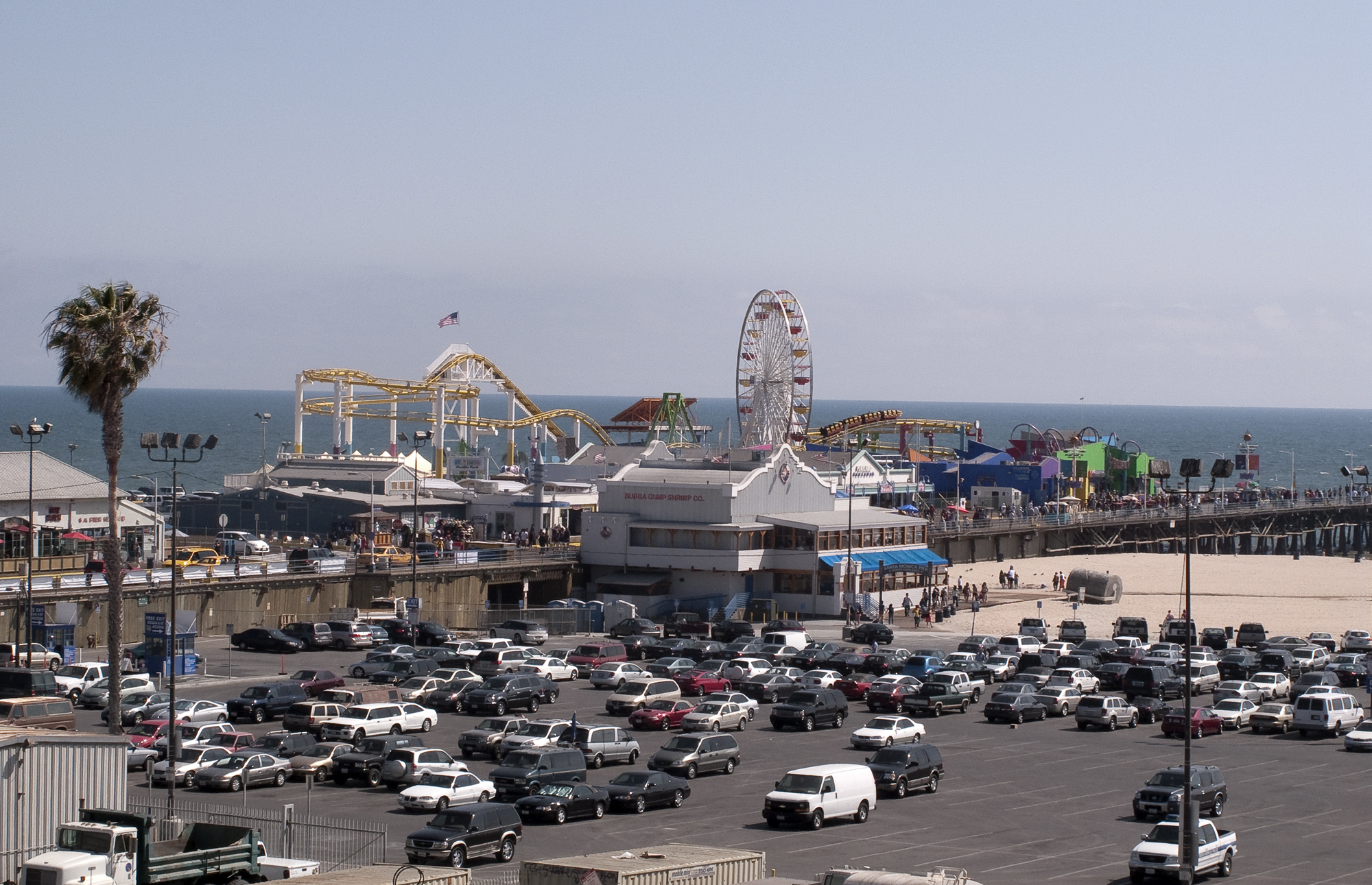 New Restaurant On Santa Monica Pier
