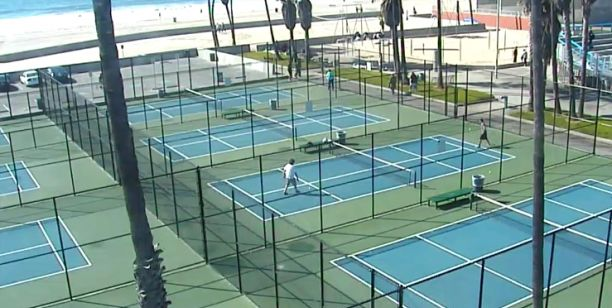 Venice Beach Tennis Courts