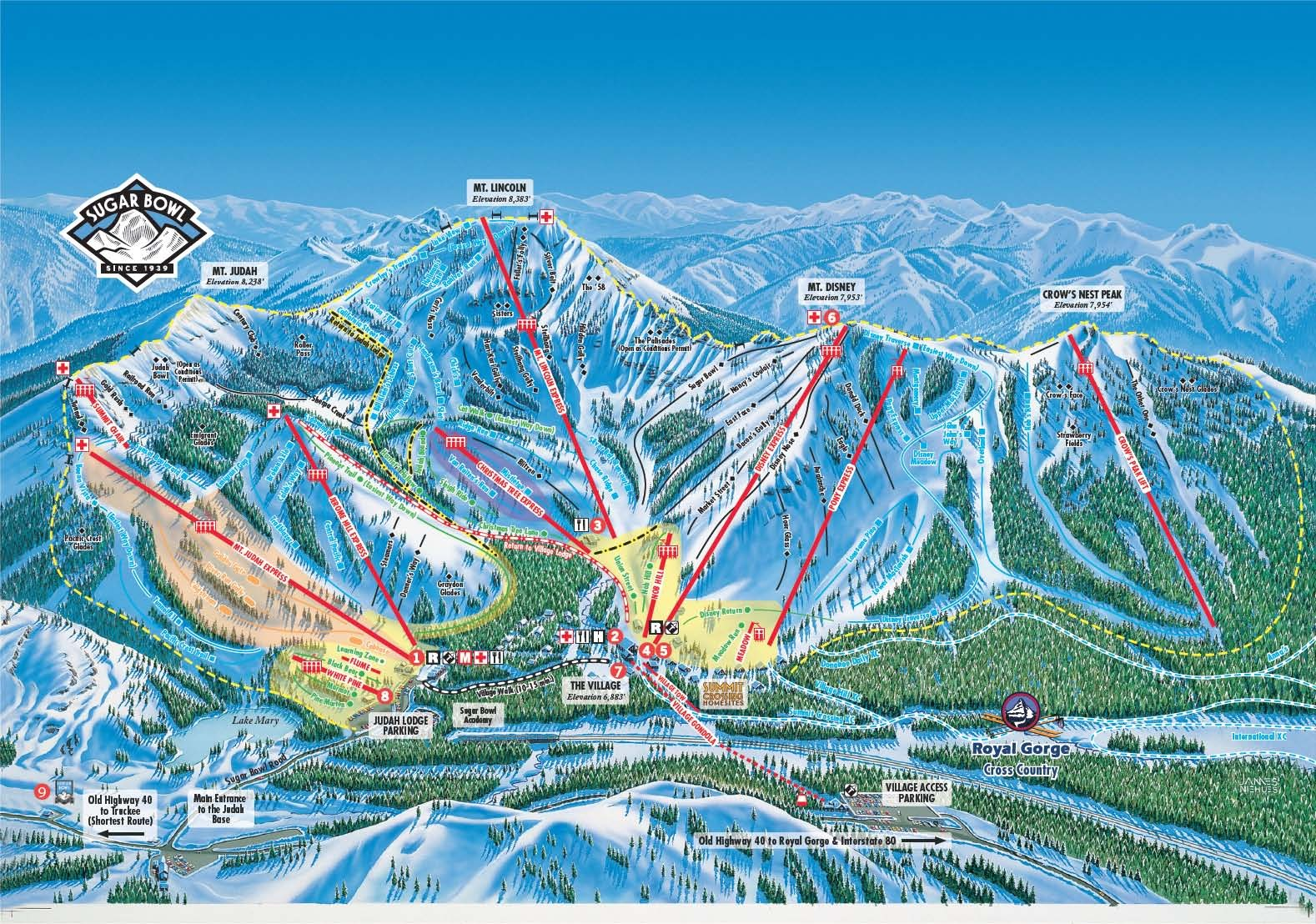 lake tahoe map ski resorts with Sugar Bowl Ski Resort on Gerlitzen as well Area hot springs moreover Tahoe south c ing map as well 23714335508152913 together with Beaver Creek.