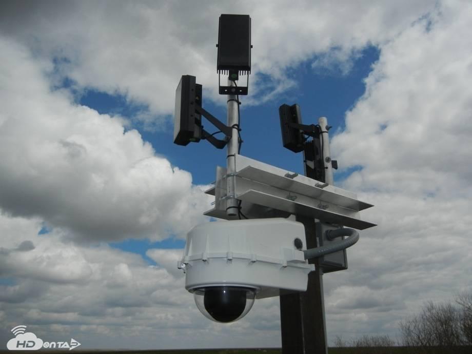Remote Live Cam Installation Grasslands National Park