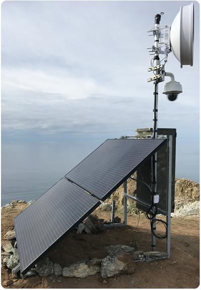Catalina West End Solar and Webcam Installation